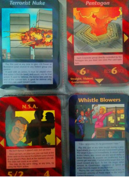 jeu de carte illuminati Le jeux de carte Illuminati de Steve Jackson refait surface