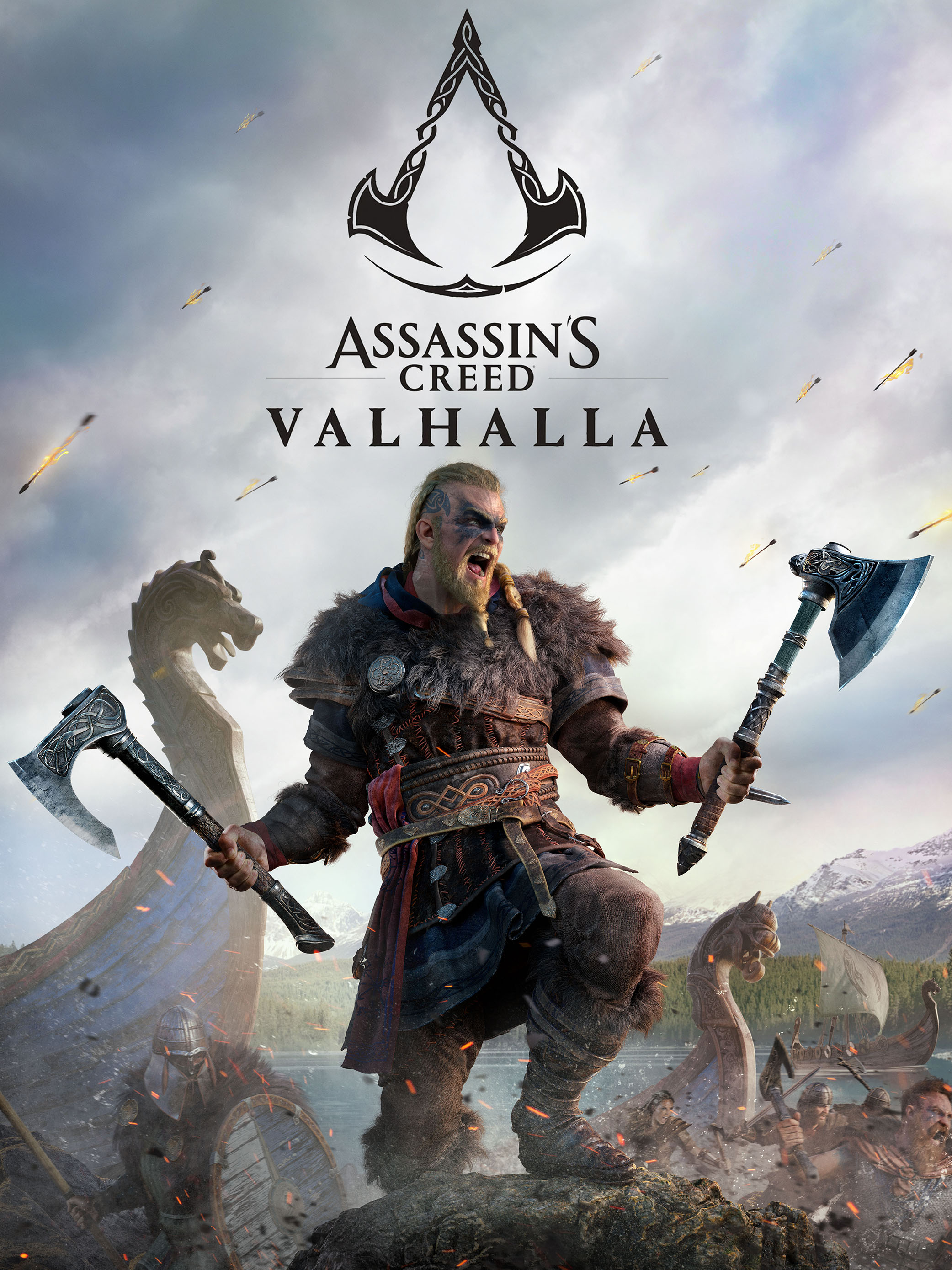 Assassin's Creed: Valhalla jaquette