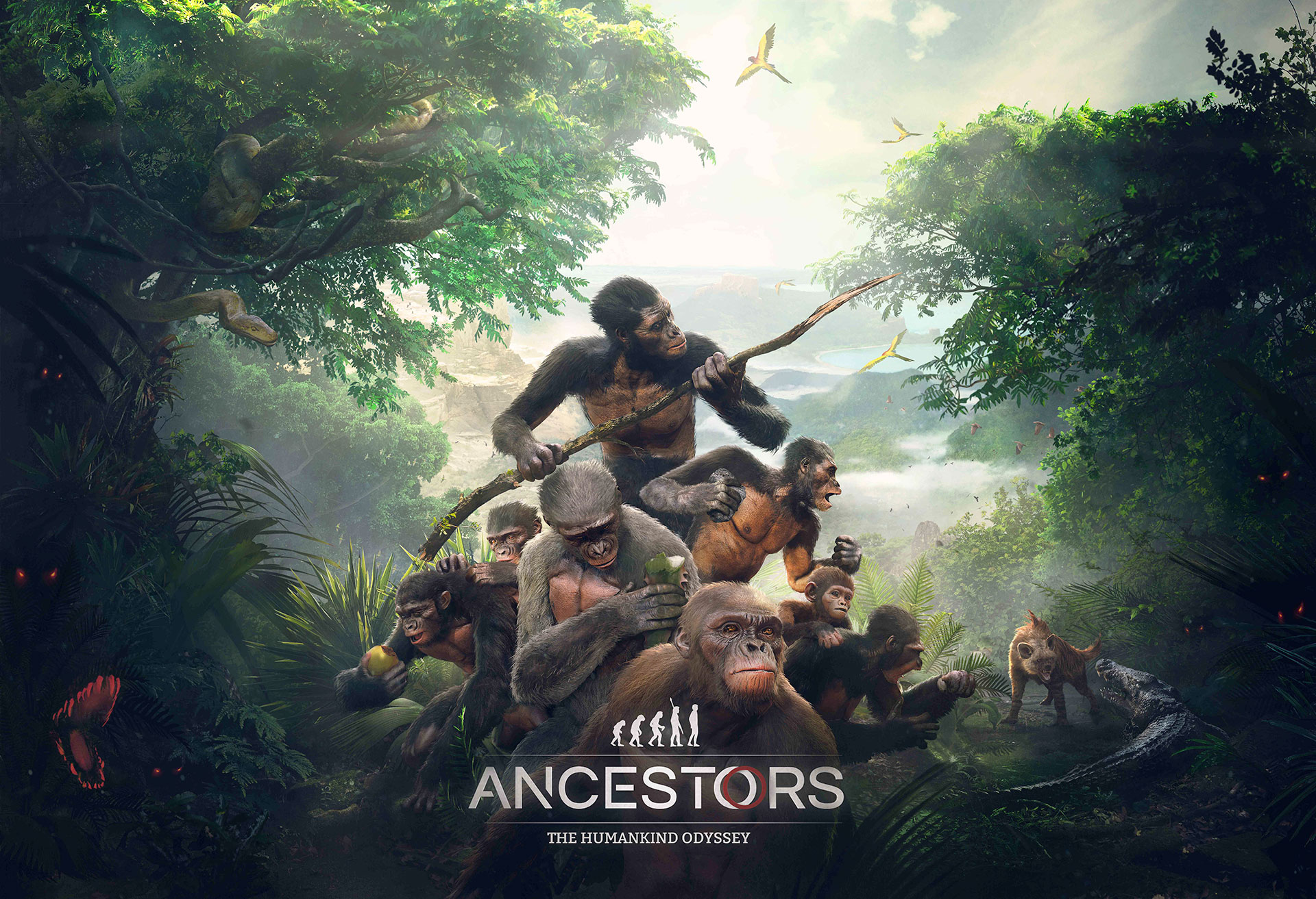 Ancestors: The Humankind Odyssey jaquette