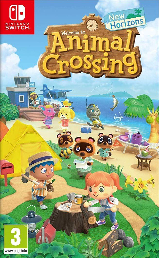 Animal Crossing : New Horizons jaquette