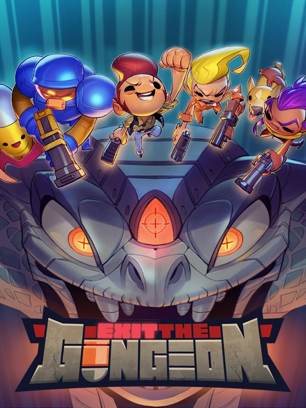 Exit the gungeon jaquette