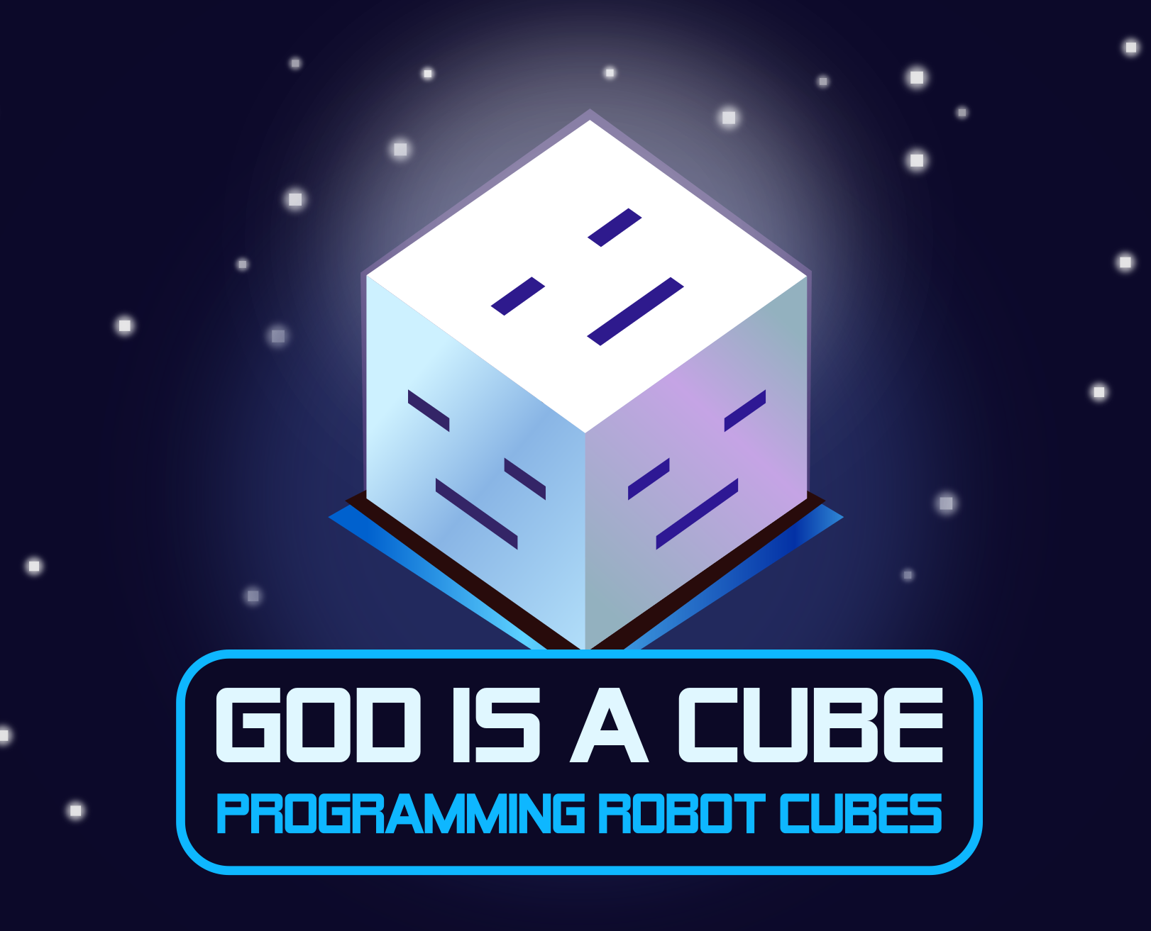 God is a Cube jaquette