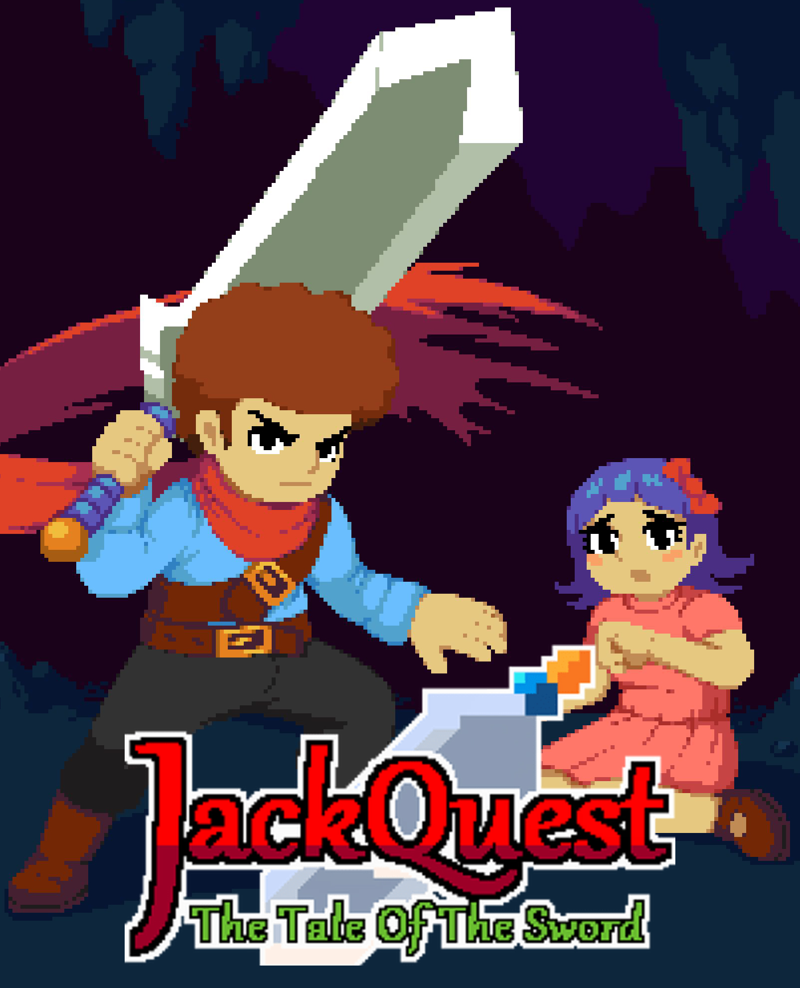 JackQuest: The Tale of The Sword jaquette
