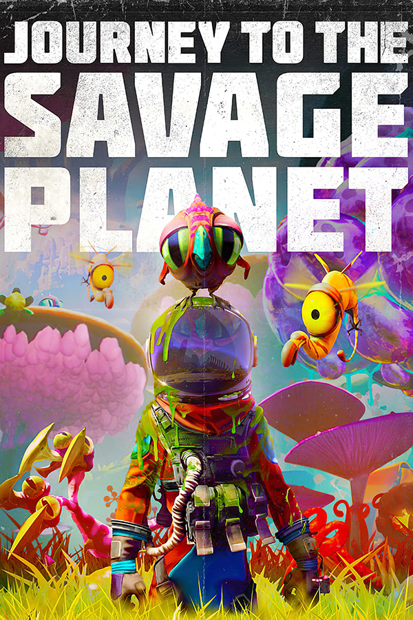 Journey to the Savage Planet jaquette