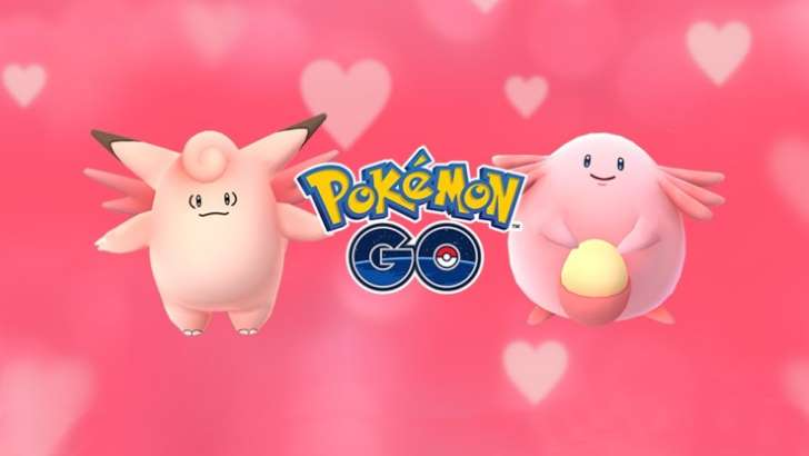 Pokemon Go : Event Saint Valentin jaquette