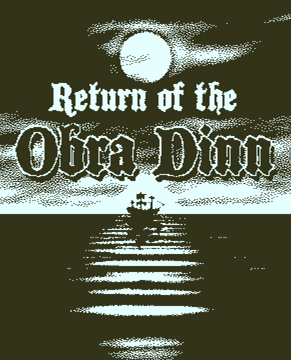 Return of the Obra Dinn jaquette