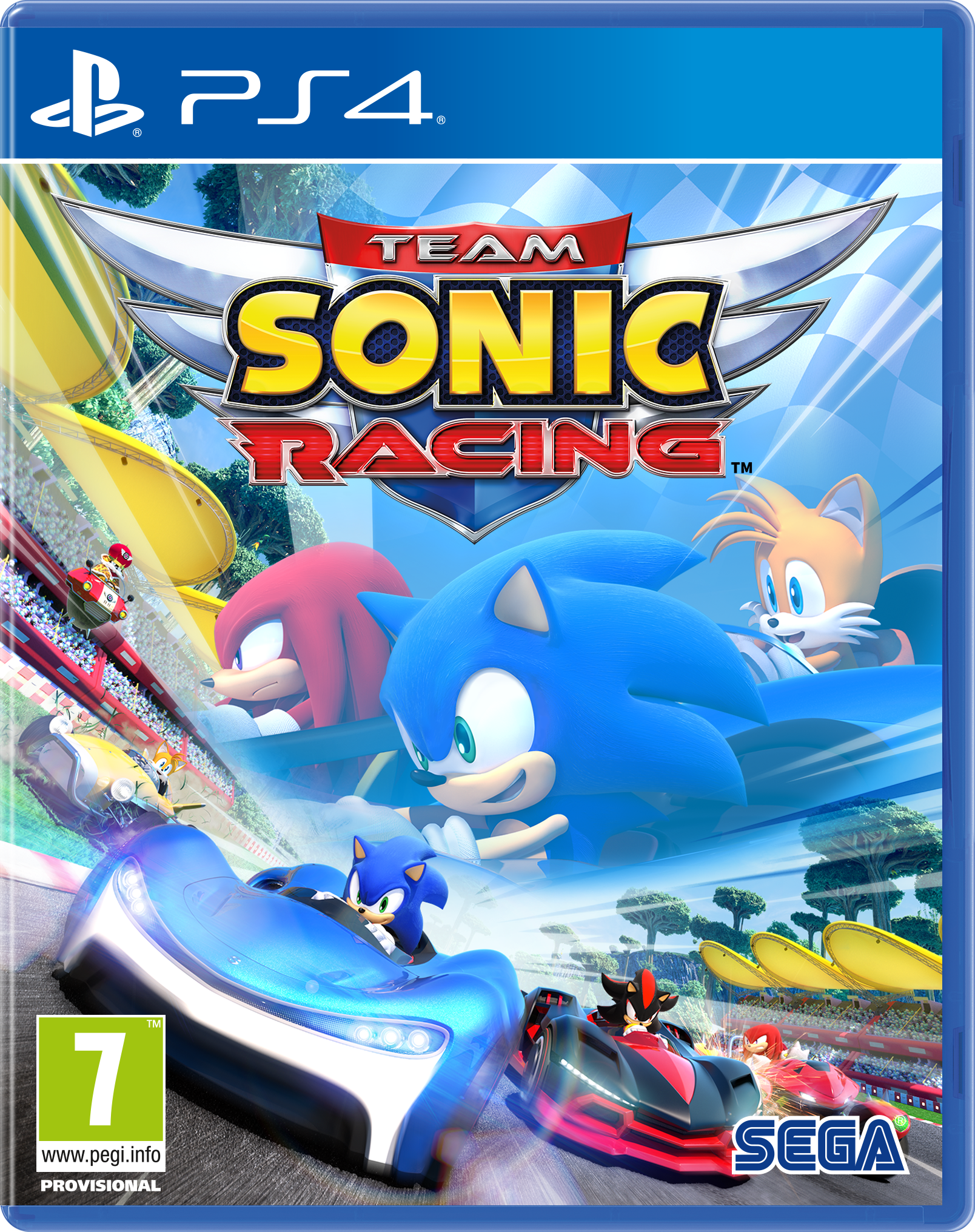 Team Sonic Racing jaquette
