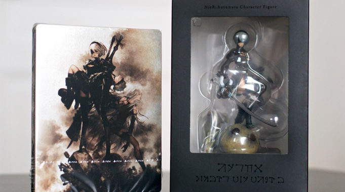 Unboxing-Nier-Automata-Collector-Black-Box-5