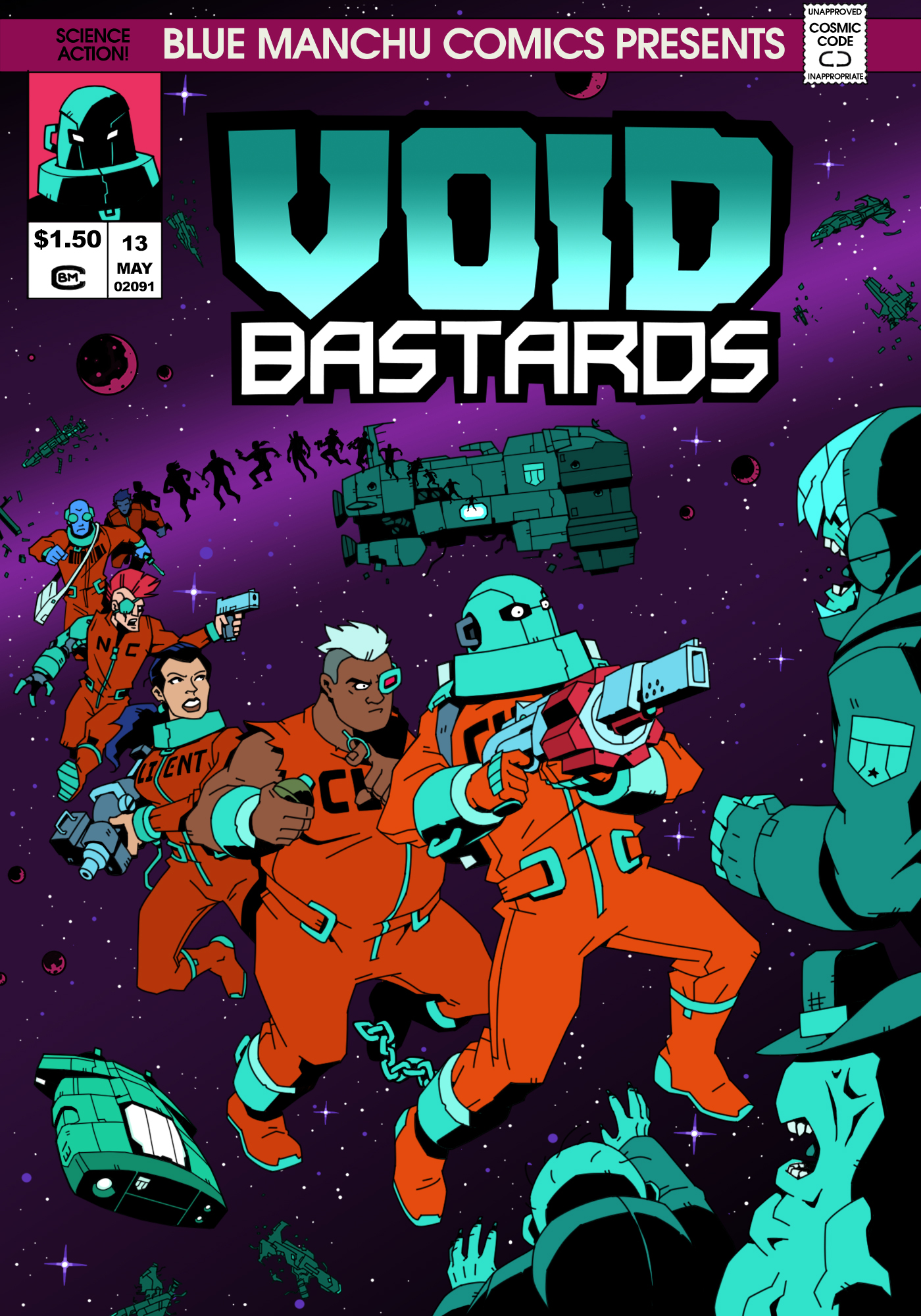 Void Bastards jaquette
