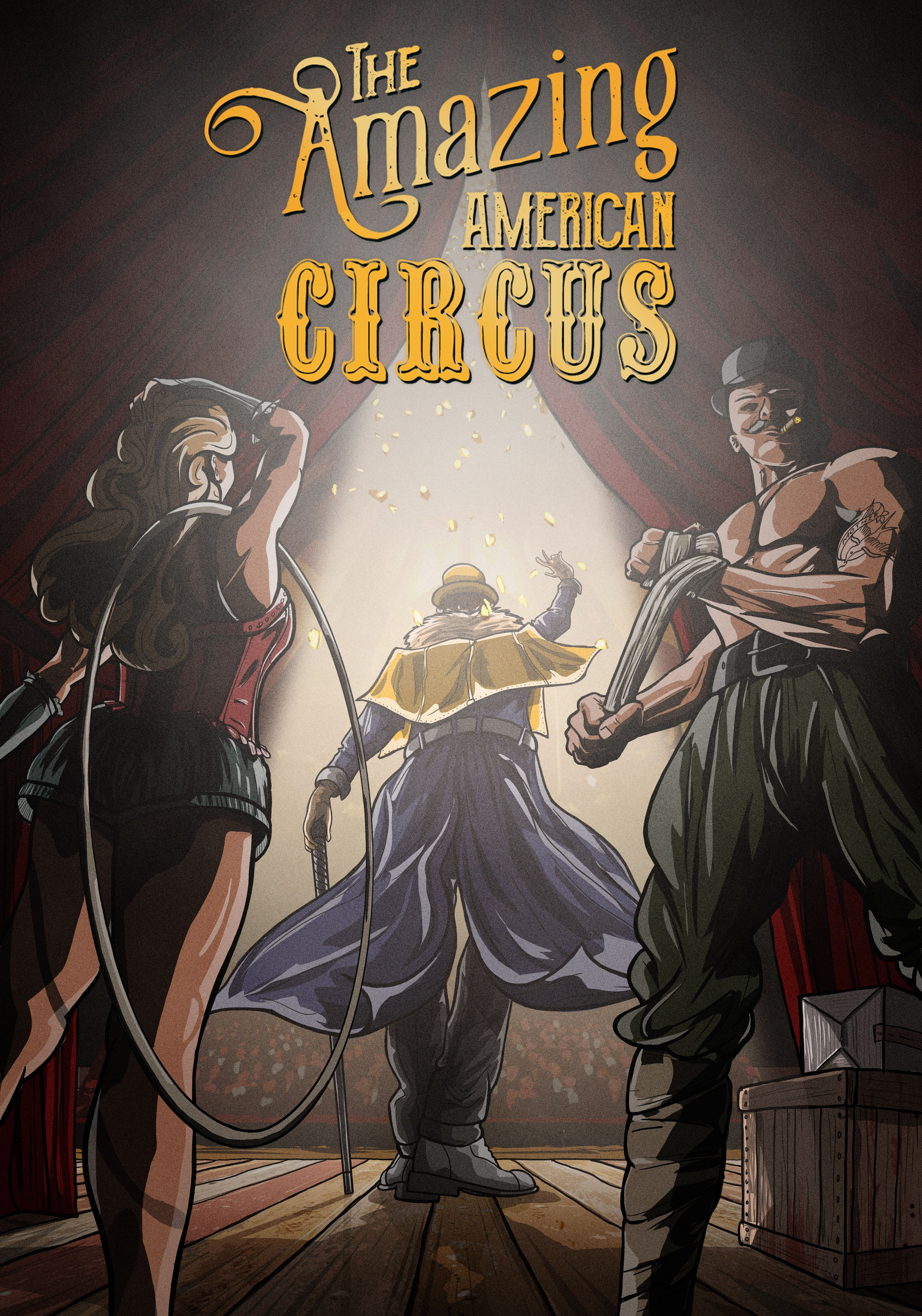The Amazing American Circus jaquette