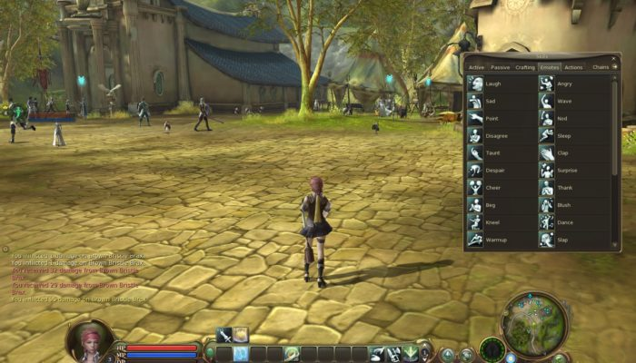 Interface dans Aion