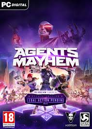 Agents of Mayhem jaquette