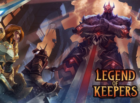 Legend of keepers jaquette