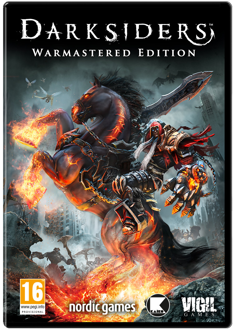 Darksiders Warmastered Edition jaquette
