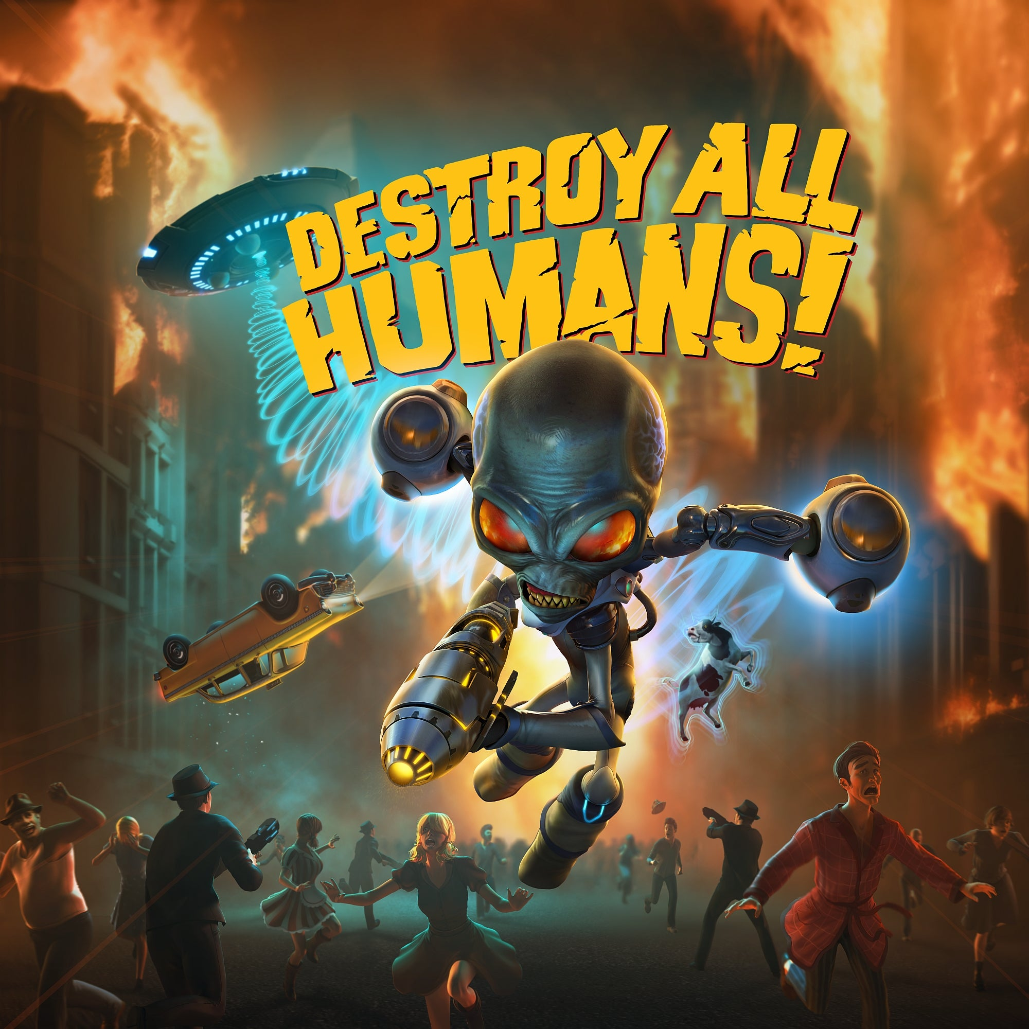 Destroy All Humans! jaquette