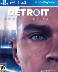 Detroit: Become Human jaquette