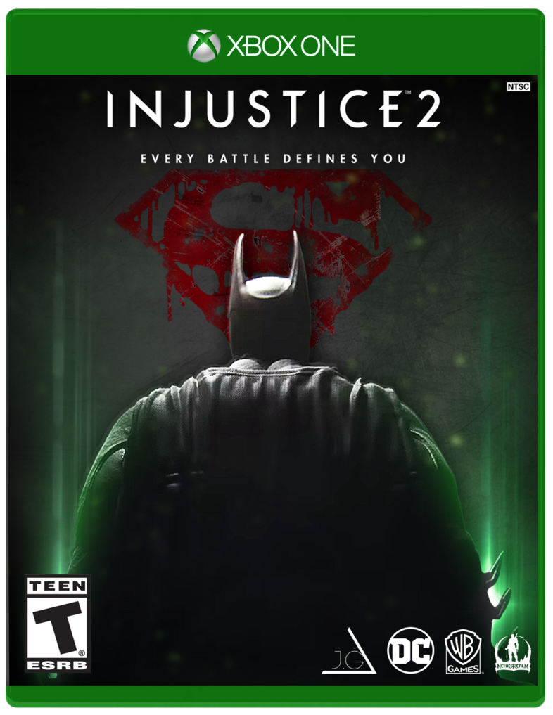 Injustice 2 jaquette