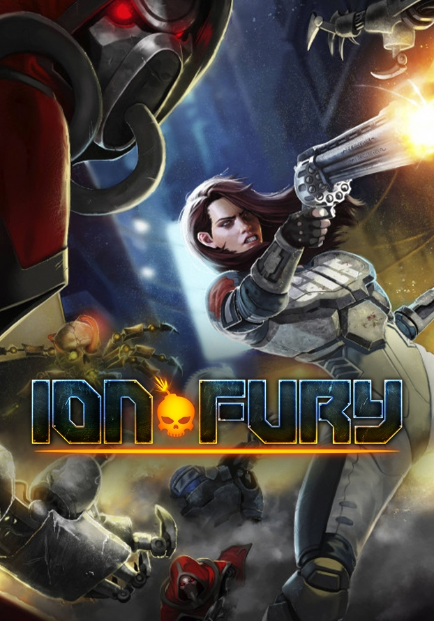 Ion Fury jaquette