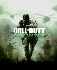 Modern Warfare Remastered jaquette