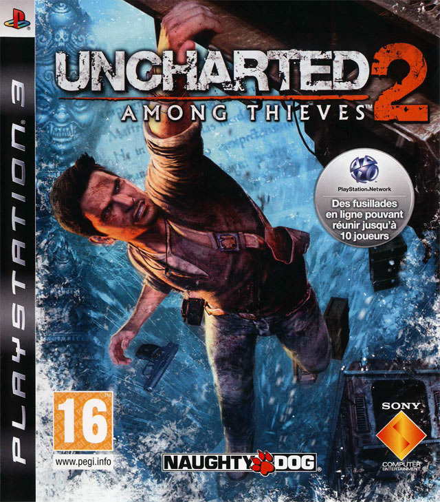 Uncharted 2: Among Thieves jaquette