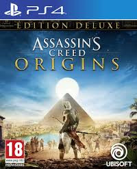 Assassin's Creed Origins jaquette