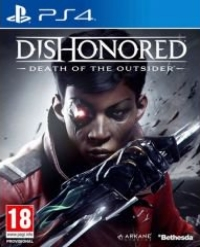 Dishonored : la Mort de l'Outsider jaquette