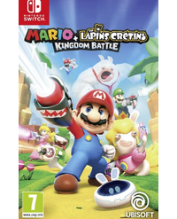 Mario + The Lapins Crétins : Kingdom Battle jaquette