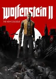 Wolfenstein II : The New Colossus jaquette