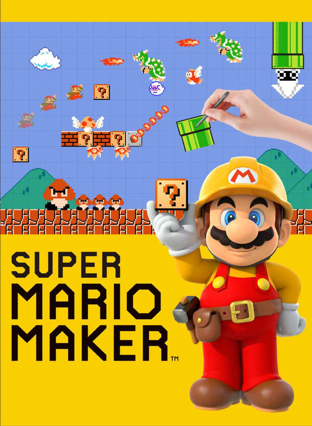Super Mario Maker jaquette
