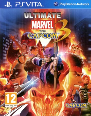 Ultimate Marvel vs Capcom 3 jaquette