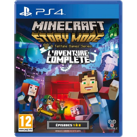 Minecraft : Story Mode - The complete Adventure jaquette