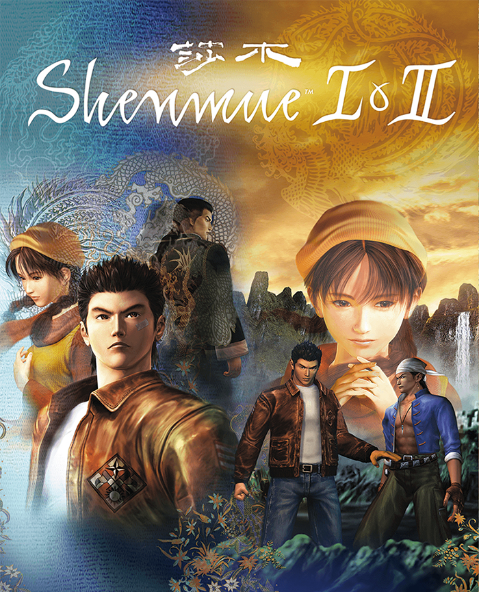 Shenmue I & II jaquette