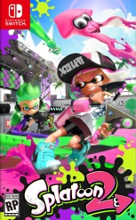 Splatoon 2 jaquette