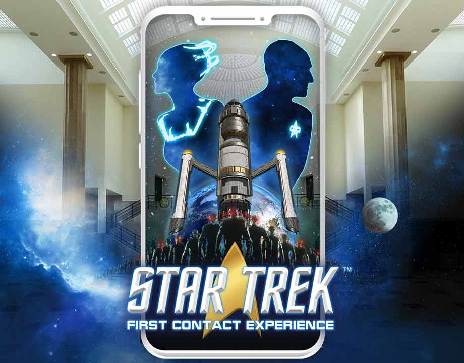 Star Trek : First Contact Experience jaquette