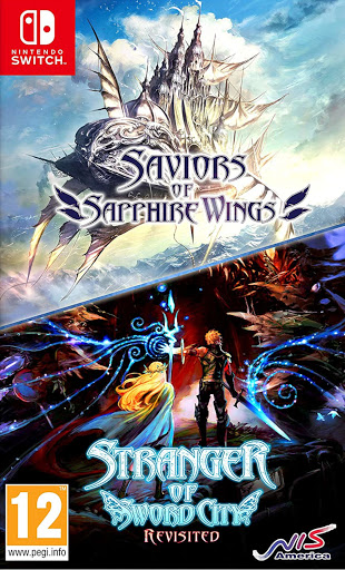 Savior of Sapphire Wings et Stranger of Sword city Revisited jaquette