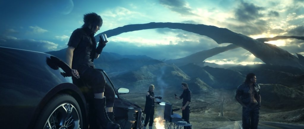Screenshot de Final Fantasy XV.