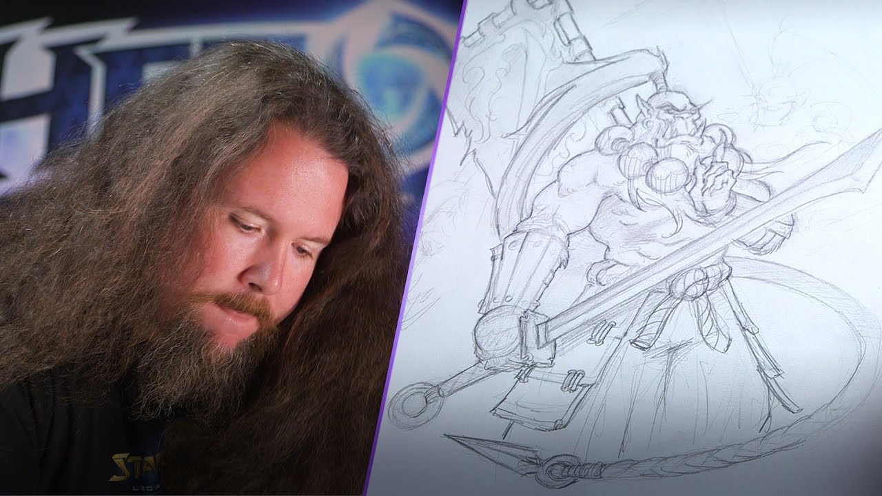 Samwise Didier heroes of the storm dessin samuro