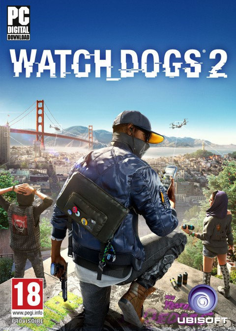 watch dogs 2 jaquette avant gold