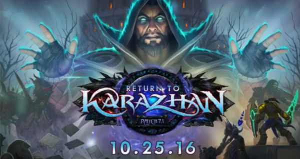 world of warcraft retour a karazhan