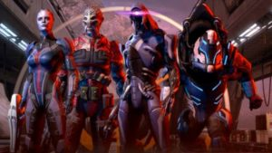 mass effect andromeda equipe
