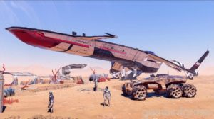 mass effect andromeda vehicules