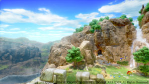 dragon quest xi mountains