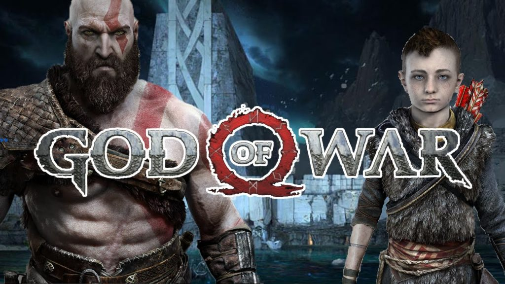 God of War Kratos et son fils
