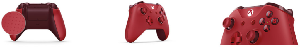 Manette Xbox One Rouge de Microsoft