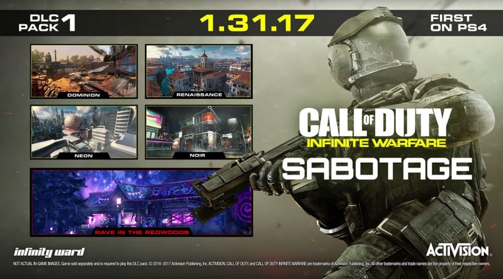 DLC 1 Sabotage Infinite Warfare