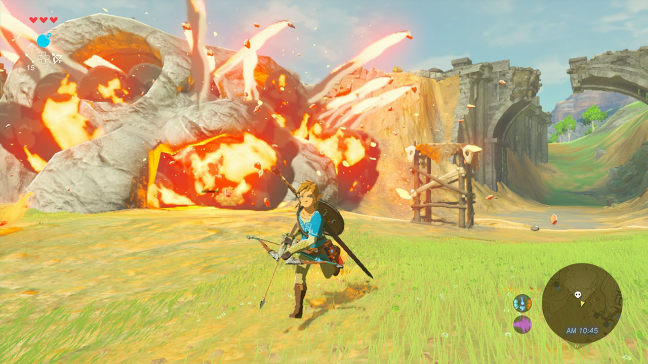 The Legend Of Zelda : Breath of the Wild gameplay