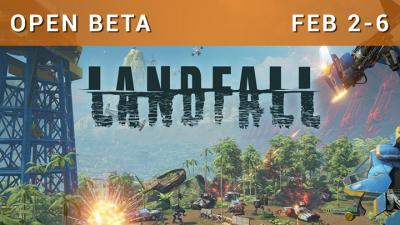 Landfall jaquette