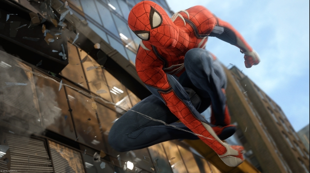 Image de fond PS4 Spider-Man
