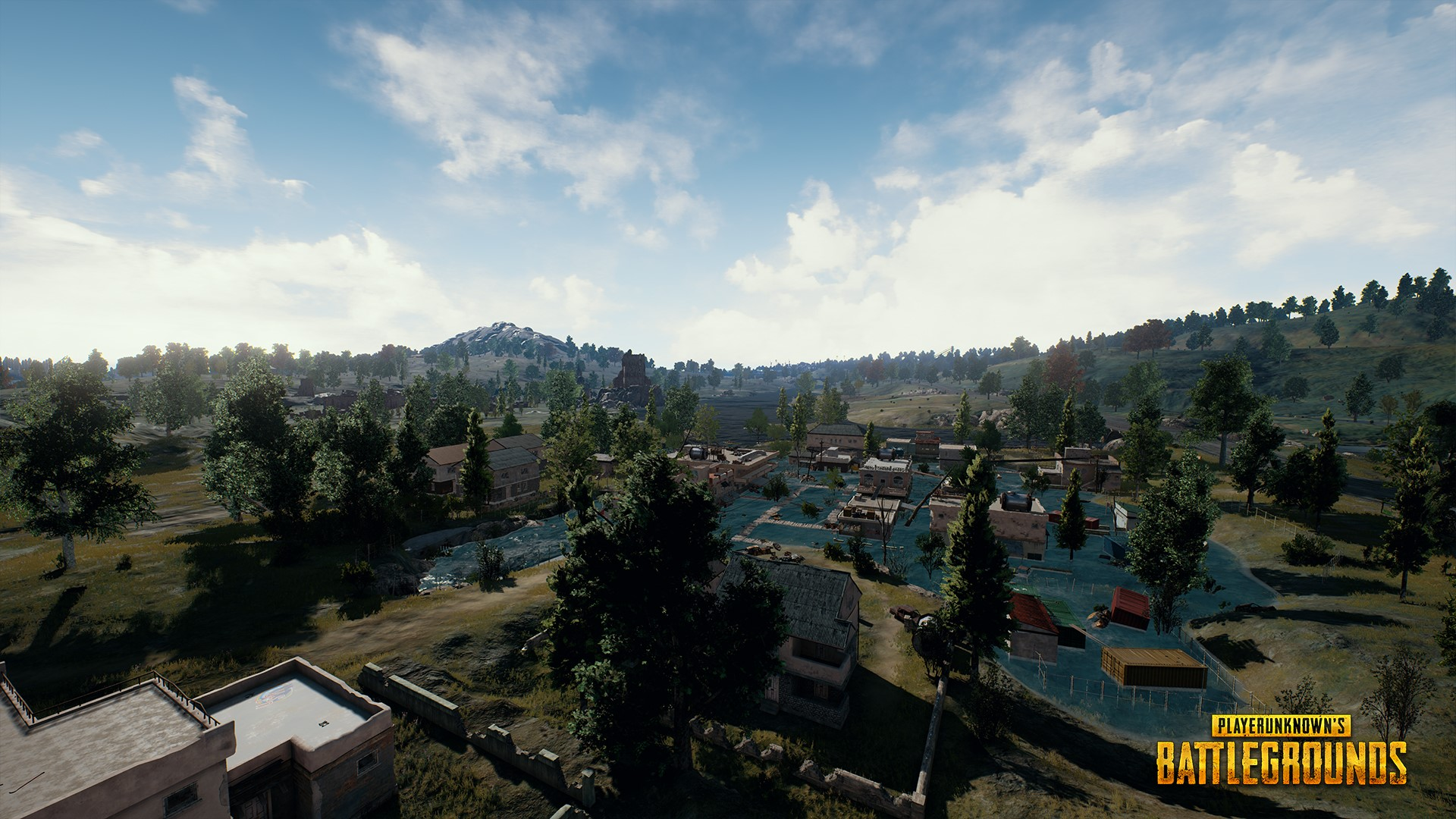 Playerunknown's Battlegrounds town