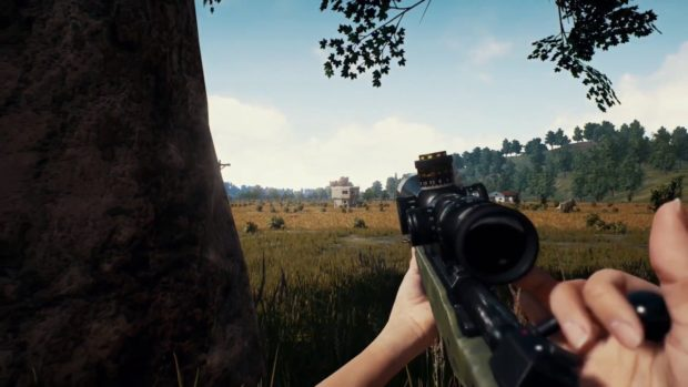 Playerunknows Battlegrounds weapons tir